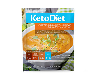 Proteinová polévka sgulášovým kořením7 x 27 g