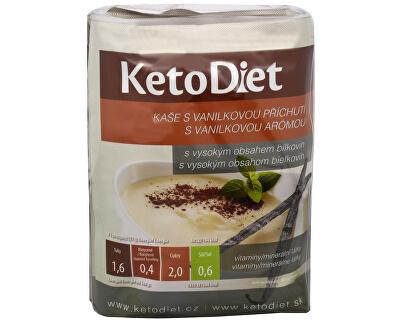 KetoDiet Proteinová kaše s vanilkovou příchutí 7 x 27 g