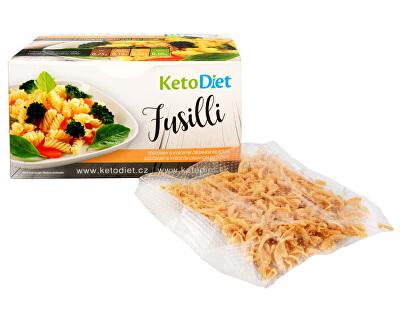 KetoDiet Proteinové těstoviny FUSILLI 7 x 30 g