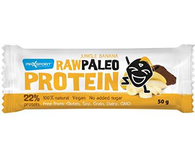 Max sport Tyčinka Raw paleo protein Jungle Banana 50g