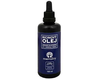 Renovality Ricínový olej za studena lisovaný 100 ml