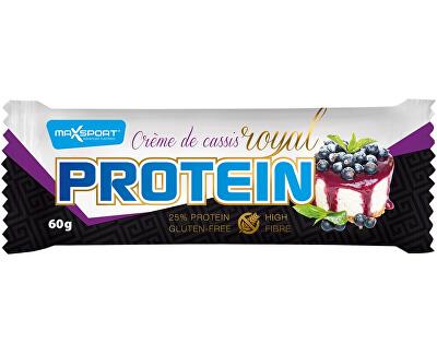 Max sport Tyčinka proteinová Royal protein delight Créme de cassis 60g, min. trv. 19.10.2018