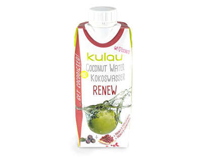 Kulau Bio kokosová voda RENEW 330ml