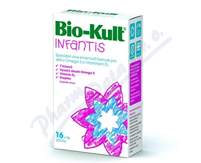 PROBIOTICS INTERNATIONAL LTD. Bio-Kult Infantis sáčky 16 x 1 g