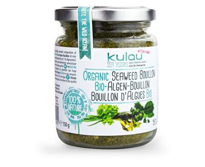 Kulau Bio sypký zeleninový bujón s mořskými řasami 150g