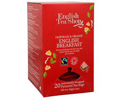English Tea Shop Černý čaj English Breakfast 20 pyramidek