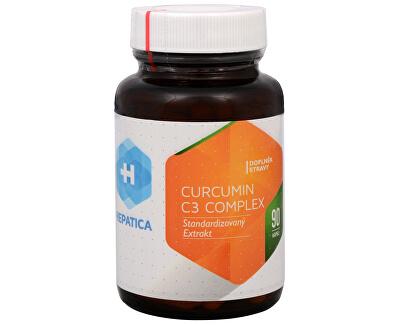 Hepatica Curcumin C3 Complex 90 kapslí