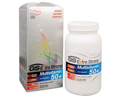 GreenSwan GS Extra Strong Multivitamin 50+ 90 tbl. + 30 tbl. ZDARMA