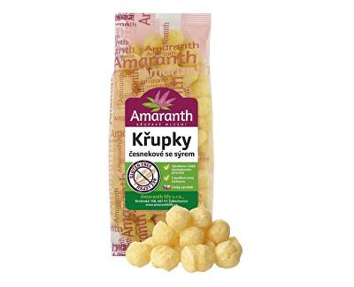 Amaranth life Křupky česnekové se sýrem 80g