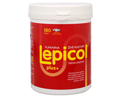 PROBIOTICS INTERNATIONAL LTD. Lepicol Plus 180 kapslí