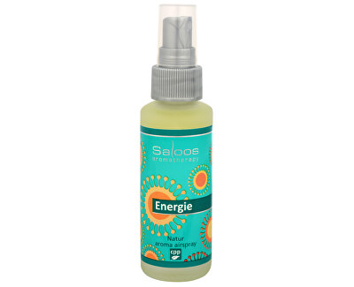 Saloos Natur aroma airspray - Energie (přírodní osvěžovač vzduchu) 50 ml