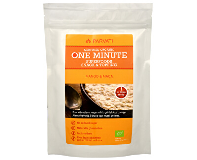 Parvati One Minute SUPERFOODS snack & topping MANGO A MACA 300 g