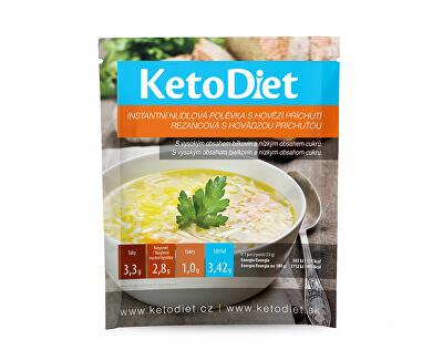 Proteinová polévka hovězí s nudlemi 7 x 33 g