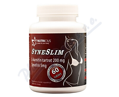 Nutricius Syneslim - synefrin + karnitin tbl.60