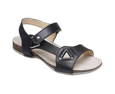 Zdravotná obuv dámska EKS / 154-27 čierna