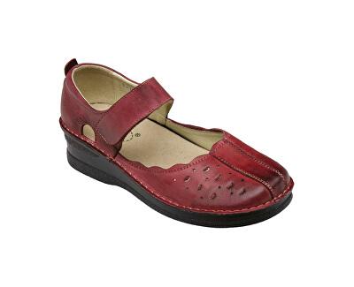 SANTÉ Zdravotní obuv dámská JH/4855 červená