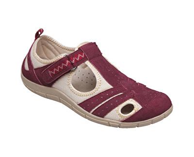 SANTÉ Zdravotní obuv dámská MDA/159-22 vínová