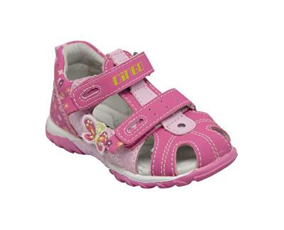 SANTÉ Zdravotní obuv dětská MY/669 fushia