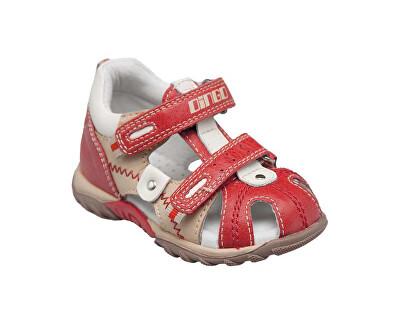 SANTÉ Zdravotní obuv dětská MY/688 červená