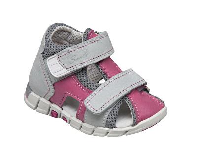 SANTÉ Zdravotní obuv dětská N/810/401/S15/S45 růžová