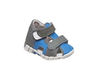 SANTÉ Zdravotní obuv dětská N/810/401/S16/S85 modrá