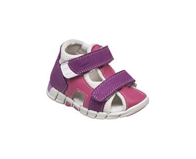 Zdravotná obuv detská N / 810/401 / S75 / S45 fialová
