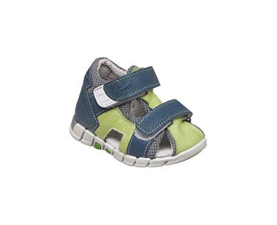 SANTÉ Zdravotní obuv dětská N/810/401/S86/S90 zelená