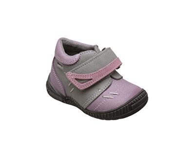 SANTÉ Zdravotní obuv dětská N/ROMA/101/19/76/56 fialová