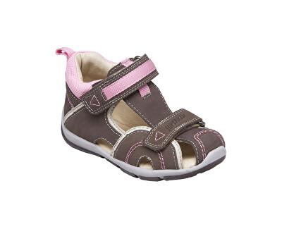 Zdravotná obuv detská SK / 333 khaki-rosa