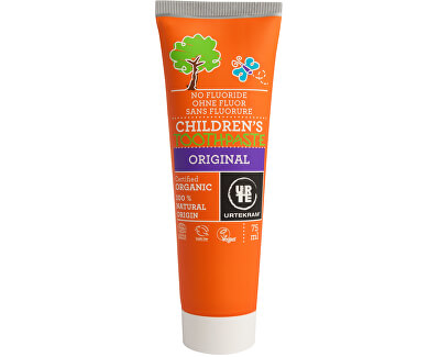 Urtekram Zubní pasta dětská 75 ml BIO