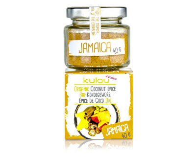 Kulau Bio kokosové koření JAMAICA 40g
