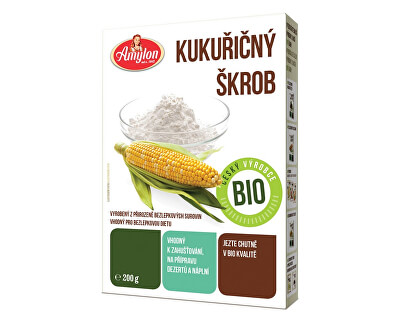 Amylon Bio kukuřičný škrob Amylon 200g - bez lepku