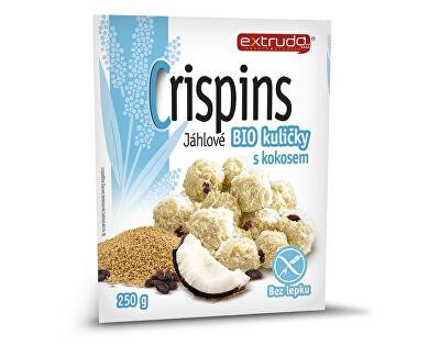 EXTRUDO Bio Crispins jáhlové kuličky s kokosem 250g