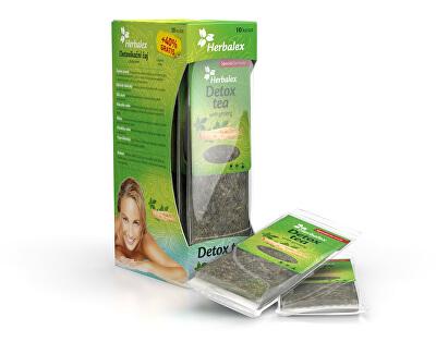 Herbalex Detoxikační čaj s ženšenem 10 ks + 40% zdarma