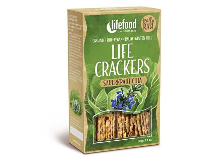 Lifefood Bio Life crackers Zelánky RAW 60 g