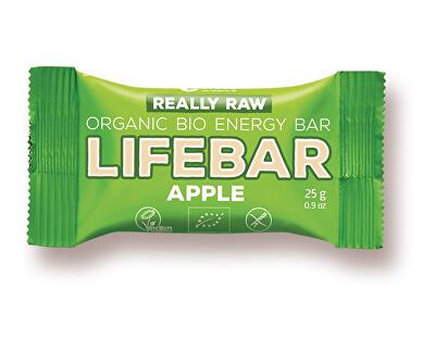Lifefood Bio tyčinka Lifebar jablečná RAW 25g
