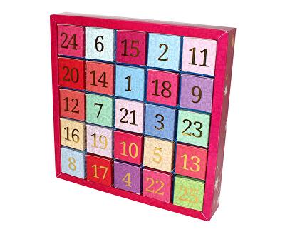English Tea Shop Adventný kalendár 25 kociek - Číselný adventný kalendár