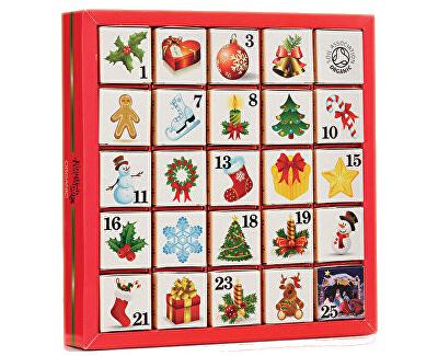 English Tea Shop Adventný kalendár 25 kociek - Vianočné ozdoby