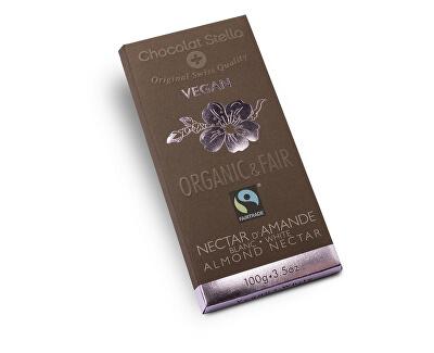Stella Bio čokoláda bílá s mandlemi 100g, 11.11.2018