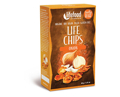 Lifefood Bio Life Chips cibulové 40g