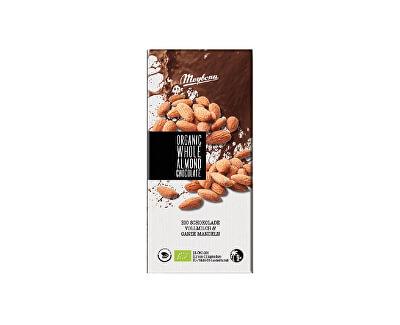 Meybona Bio mléčná čokoláda s celými mandlemi 100g