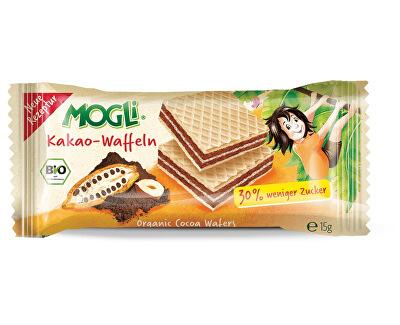 MOGLI Bio Oplatky kakaové 15g