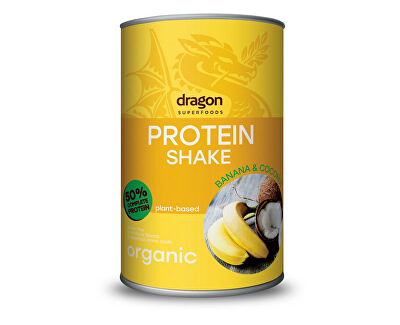 Dragon superfoods Bio proteinový koktejl banán a kokos 450g