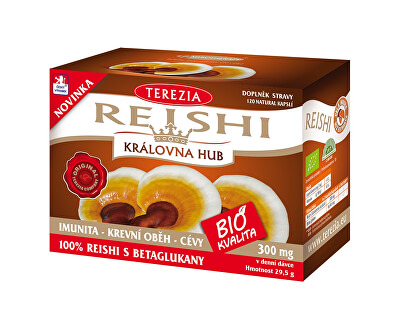 Terezia Company BIO Reishi 120 kapsúl