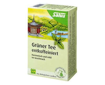 Salus Bio Zelený čaj bez kofeinu 15 sáčků