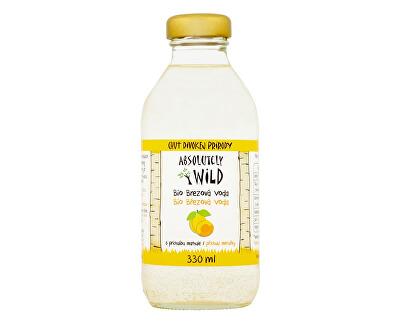 Absolutely Wild 1 Bio Březová voda 99,1% meruňková bez cukru 330ml