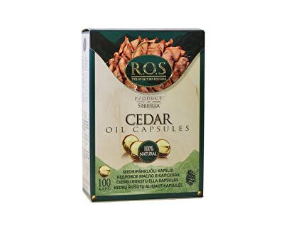 ROS LTD Cedrový olej 100 kapslí
