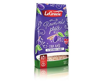 LeGracie Chia kaše - švestka a skořice 65g