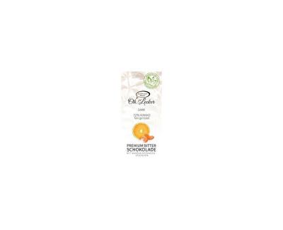 Meybona Čokoláda hořká 72% mandarinka pomeranč bez cukru 80g