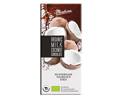 Meybona Bio Čokoláda mléčná s kokosovými lupínky 35% 100g